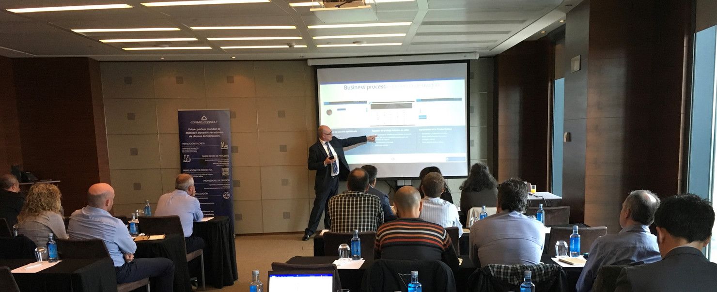 Image: COSMO CONSULT Evento Dynamics 365