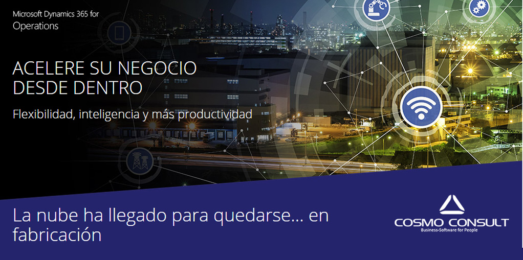 Dynamics 365 for Operations Fabricación